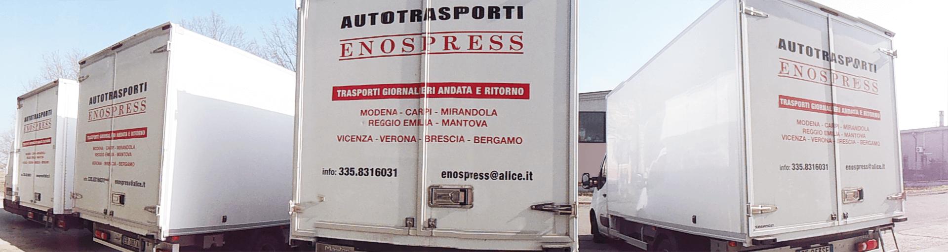 La flotta di Enospress s.r.l. - Corriere Espresso
